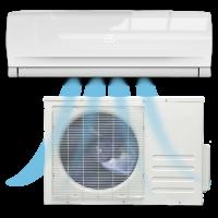 Oro kondicionieriai ir šilumos siurbliai oras-oras