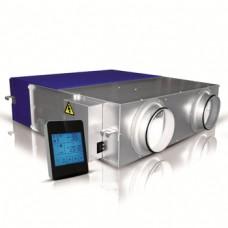 Alnor HRU-ERGO 800 rekuperatorius (entalpinis šilumokaitis) ir valdymo pultas liečiamu ekranu