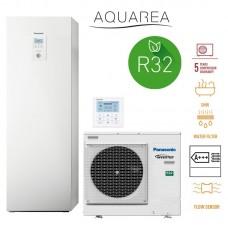 """Panasonic Aquarea 7 kW šilumos siurblys """"viskas viename""""."""